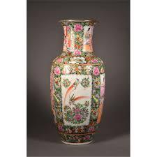 Enamel Vase Large Chinese Canton Enamel Porcelain Vase