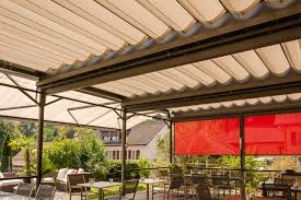 Wind Out Awning Reference Projects Stobag Sonnen Und Wetterschutz