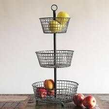 tiered fruit basket vintage fruit baskets eatwell101