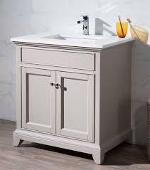 31 Bathroom Vanity by 31 Inch Transitional Grey Finish Single Bathroom Vanity Quartz Top
