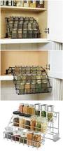 Spice Rack For Wall Mounting Diy Spice Rack Easy Access Doesn U0027t Take Up Room In The Cupboards