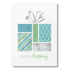 stylish gift birthday card from g neil business birthday cards