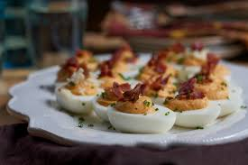 sweet potato deviled eggs