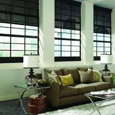 Solar Powered Window Blinds Motorized Roller Shades Shades The Home Depot