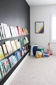 bedroom impressing modern wall shelves for kids rooms uncategorized suitable wall mounted oak bookshelves ravishing