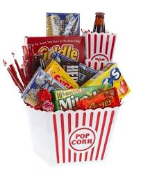 Movie Themed Gift Basket Musely