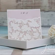 pocket wedding invitations fancy floral pearl laser cut wholesale pocket wedding invitation
