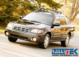 subaru pickup 2015 subaru baja performance parts rallitek com