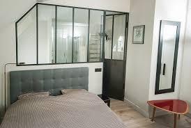 verriere chambre parfait cloison verriere chambre design salon a artiste metal