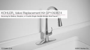replace kitchen sink faucet valve replacement for bellera simplice or cruette kitchen sink