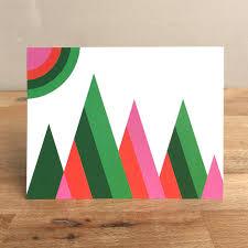 modern christmas cards modern photo christmas cards whimsical modern greeting card