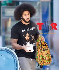 colin kaepernick colin kaepernick sends a message with me against the world tupac