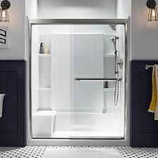 Sterling Shower Doors By Kohler Sterling Shop Toilets Showers More At Lowe S