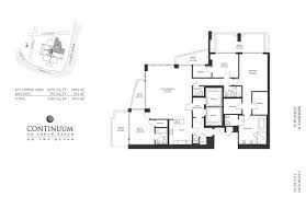 Brickell On The River Floor Plans Continuum Ii North We Rent Brickell