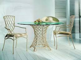 how to make your own round glass dining room table home interiors
