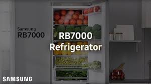 samsung demo rb7000 refrigerator youtube
