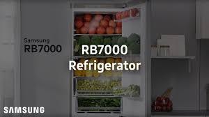 samsung demo rb7000 refrigerator youtube