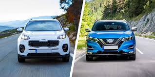 nissan qashqai nearly new kia sportage vs nissan qashqai which is best carwow