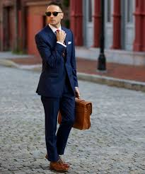 Colour Combination With Blue Shirt And Tie Combinations With A Navy Suit The Idle Man