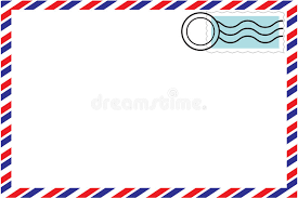 envelope border pattern correspondence envelope stock vector illustration of envelope 6116183