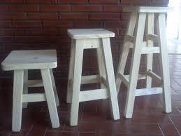taburetes de pino banquetas taburetes altas de pino 290 00 en mercado libre