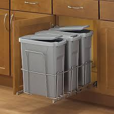 poubelle recyclage cuisine bacs à déchets et poubelles home depot canada
