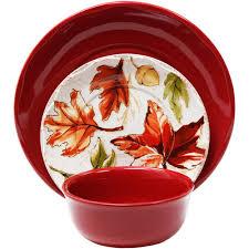 better homes and gardens 12 harvest dinnerware set 14 97