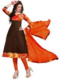 buy khushali presents bangalori bhagalpuri anarkali dress material