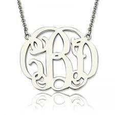 Personalized Monogram Necklace Personalized Monogram Necklace Sheown