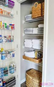 bathroom organizers ideas toiletry organizing bathrooms and linen closets housekeeping