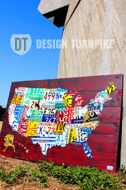 Usa License Plate Map by 59 Best License Plates Images On Pinterest License Plate Art