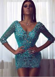 short fitted sparkly prom dresses best dressed