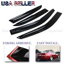 Exterior Door Rain Deflector by Fit 03 07 Honda Accord 4 Door Usa Window Wind Deflector Rain Guard