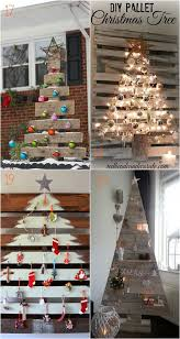 Christmas Tree Decorations To Make Out Of Paper 25 Best Alternative Christmas Tree Ideas On Pinterest Xmas Tree