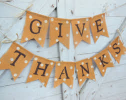 burlap thanksgiving banner etsy your place to buy and sell all things handmade