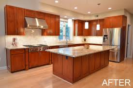 What Is The Height Of A Kitchen Island Before U0026 After Bullseye Wood Specialties Llc