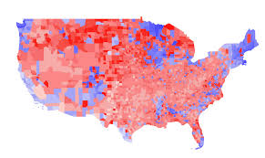 Early Election Results Map by Visualization U2014 Dave Troy Fueled By Randomness