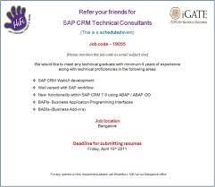 sap crm technical consultant resume sap srm technical consultant resume resume of nikhil kumar sap