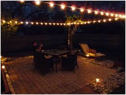 backyards charming image of patio lighting ideas gallery 108