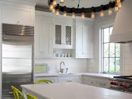 kitchen ceiling lights hanging lights white plastic barstools