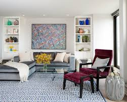 Casual Living Room Furniture Casual Living Room Furniture Feature Stylish Bold Sofa And
