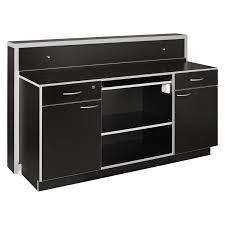 Black Salon Reception Desk Led Moonlit Salon Reception Desk Large
