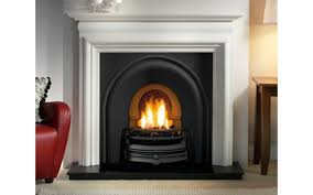 tradition and asquith limestone fireplace