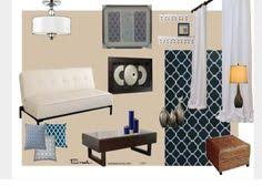 Cool Color Scheme Blue Living Room Complementary Triadic - Colors of living room
