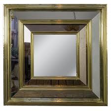 mid century mirror large square french mid century mirror 145 antiques