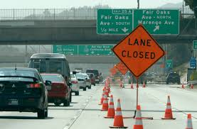 Caltrans Traffic Map Caltrans To Close Eastbound 210 In Pasadena For 34 Hours U2013 San