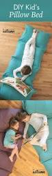 how to make a kids u0027 pillow bed the easiest u0026 cheapest way