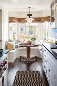 kitchen bay window ideas kitchen bay window ideas dining room with bamboo shades black