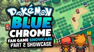 pokemon fan games online pokemon blue chrome pokemon fan game review showcase we back at
