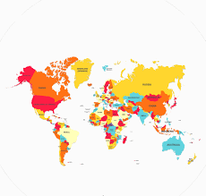 Free Vector World Map by 29 Free World Map Vectors Ai Eps Svg Download Design Trends